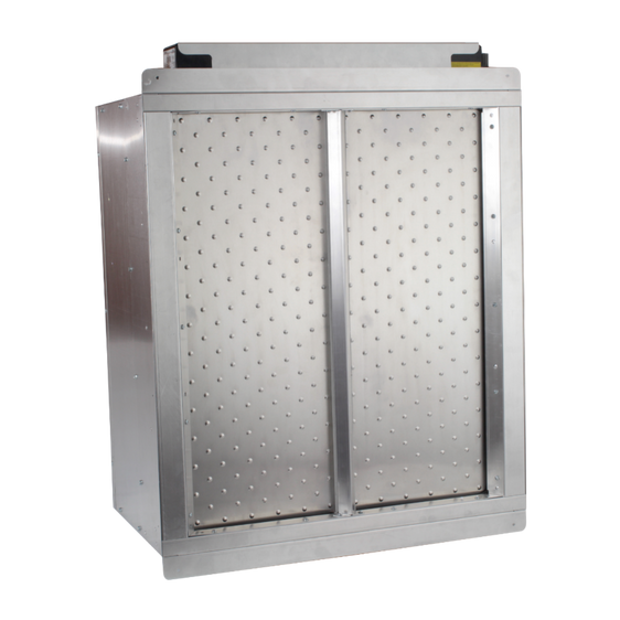 AirScape Powered Airlock™ damper doors