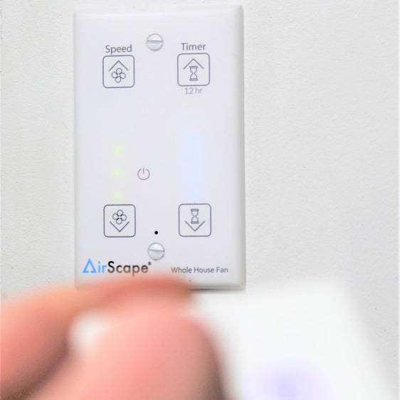 AirScape wall mounted touch controller