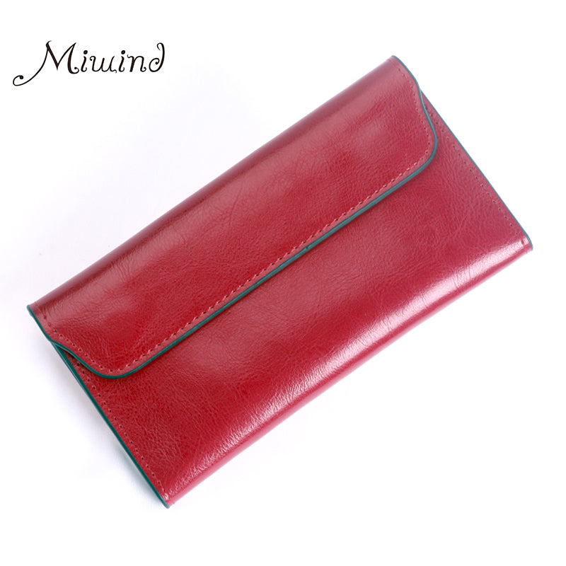 MIWIND LEATHER SLIM WALLET
