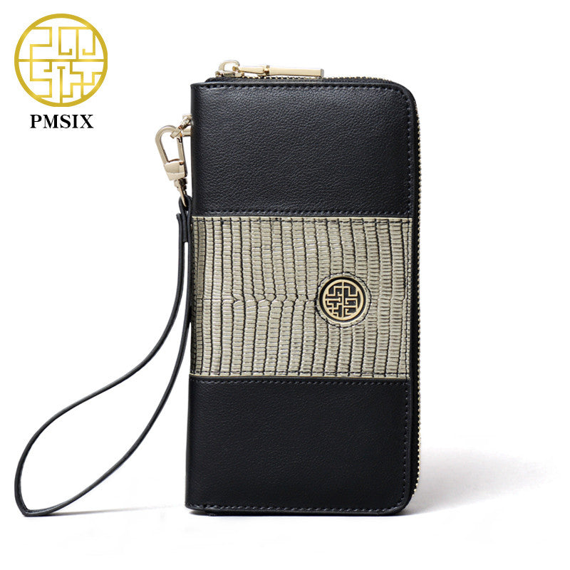 PMSIX Dragon Skin Leather Wallet
