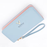 Sweet Dreams V Long Fashion Leather Wallet
