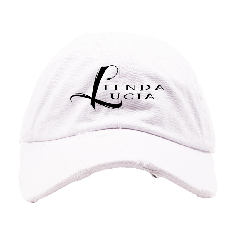 White or Charcoal Dad Hat