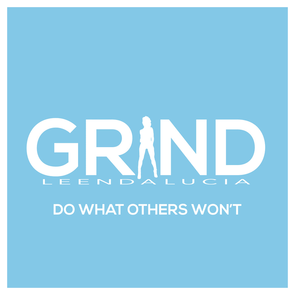 GRIND Sticker - Baby Blue