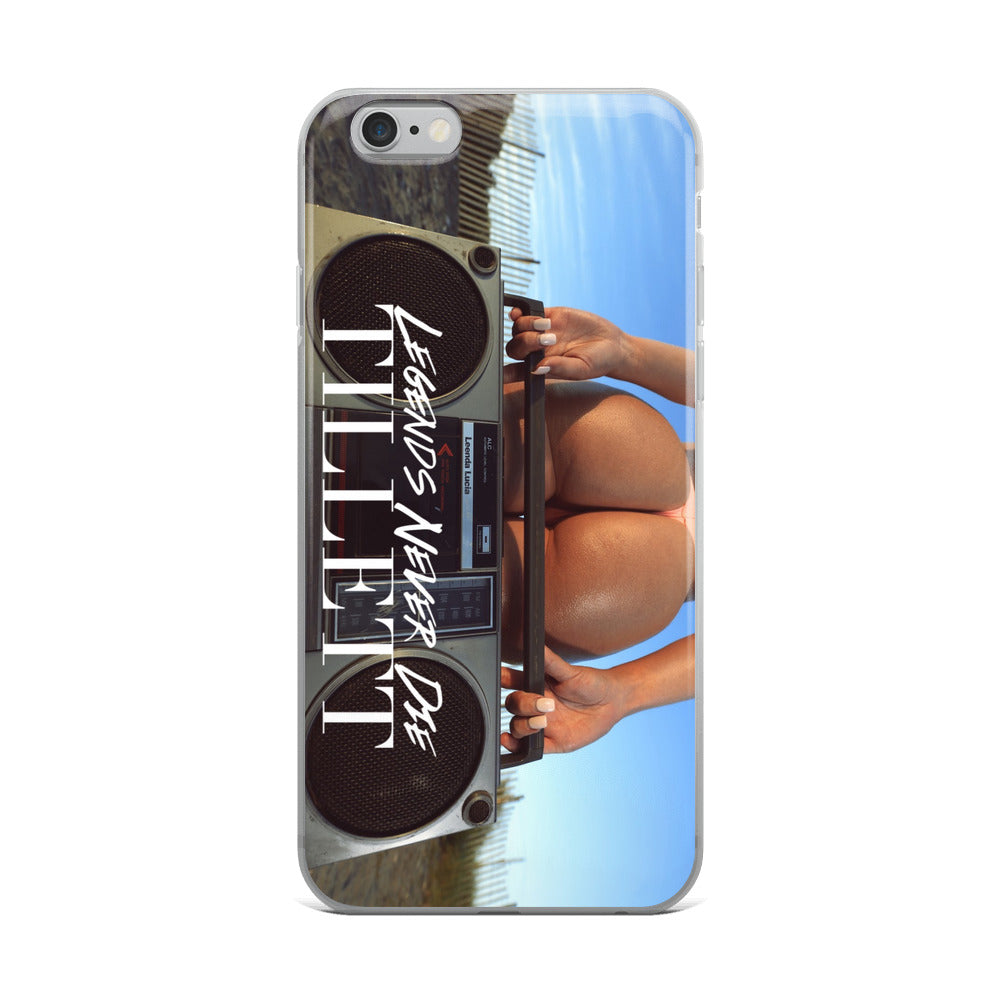 Legendary Tillett iPhone Case