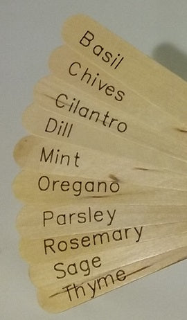 Plant Labels - Herbs  [Pack of 100]