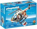 Playmobil 5542 City Action Coast Guard Fire Fighting Helicopter