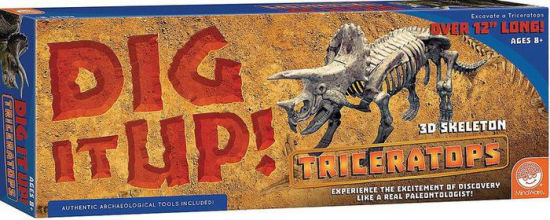 Dig It Up! 3D Triceratops