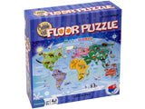 Cobble Hill Floor Puzzle Map of the World