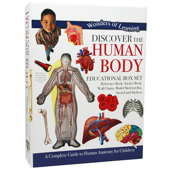 Discover The Human Body: Educational Box Set
