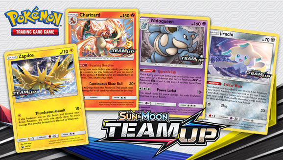 Pokemon Cards-Sun & Moon Team Up