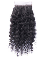 Extensions Plus Signature Closure Style 1 - Kinky Curl