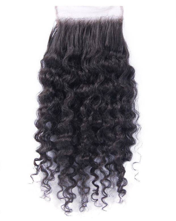 Extensions Plus Signature Closure Style 2 - Kinky Curl