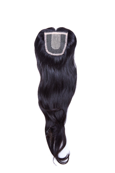 Extensions Plus Zig Zag Style 3 Closure - Natural Body