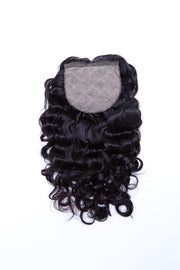 Extensions Plus Zig Zag Style 2 Closure - Curly