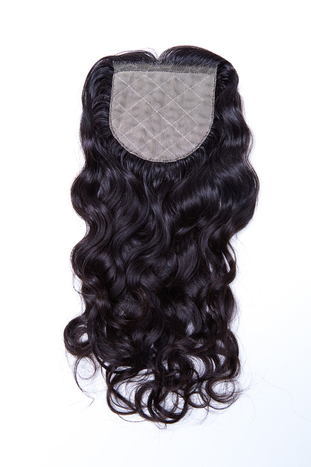 Extensions Plus Zig Zag Style 2 Closure - Wavy