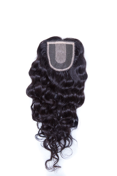 Extensions Plus Zig Zag Style 3 Closure - Curly