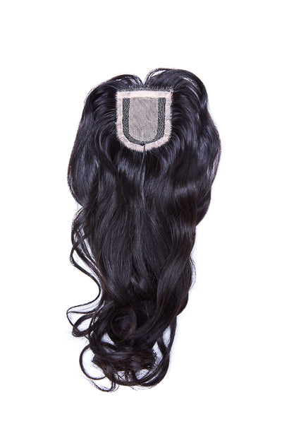 Extensions Plus Zig Zag Style 3 Closure - Wavy