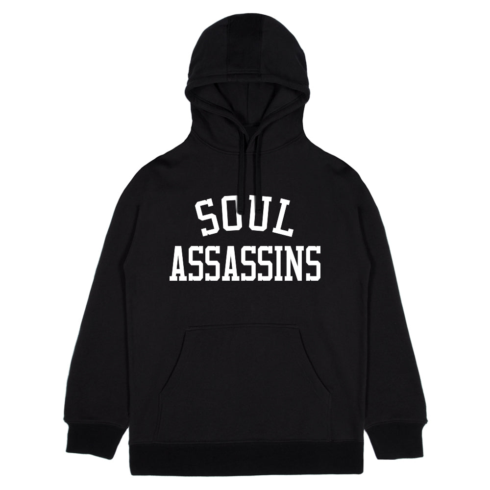 SA College Arch Hoodie - Black