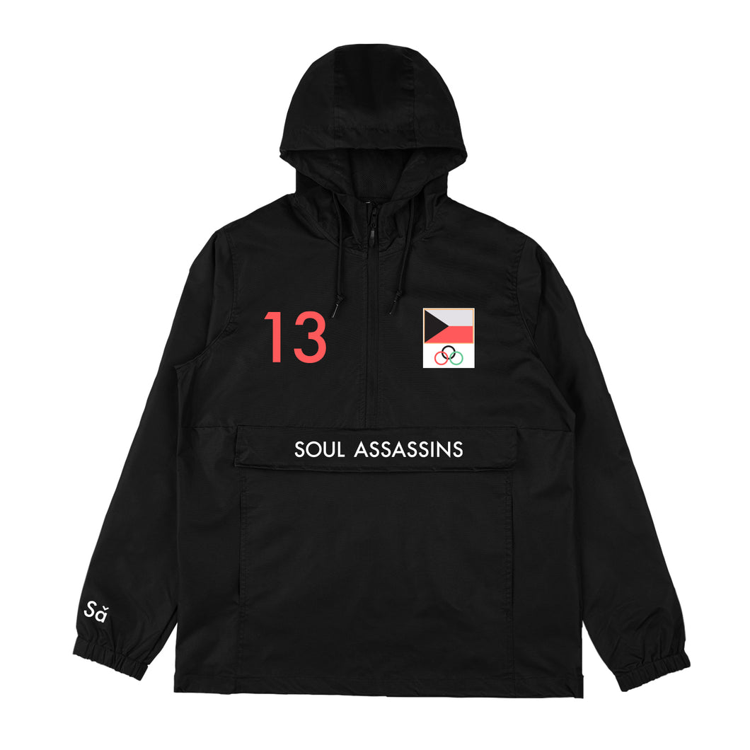 SOUL ASSASSINS WINTER WINDBREAKER (BLACK)