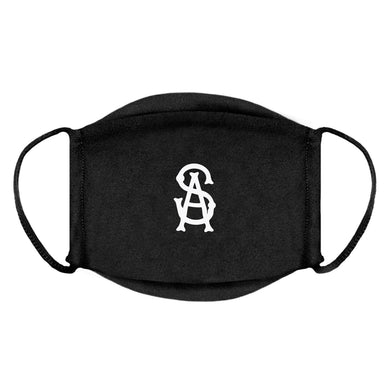 SOUL ASSASSINS BONES LOGO FACE MASK (BLACK)
