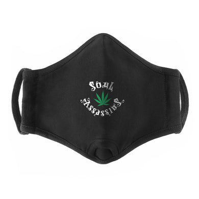 SOUL ASSASSINS LEAF SMOKER'S FACEMASK (BLACK)
