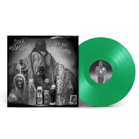 "SOUL ASSASSINS: DIA DEL ASESINATO  - LIMITED EDITION DELUXE 12"" GREEN VINYL"
