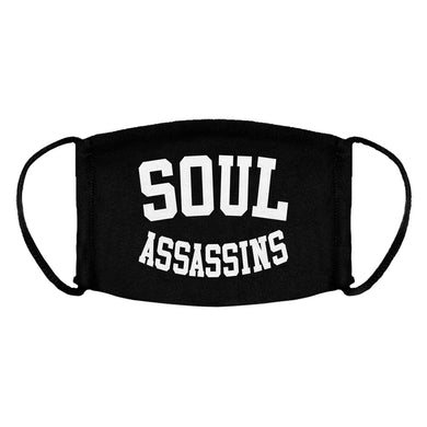 SOUL ASSASSINS COLLEGE ARCH FACEMASK (BLACK)