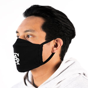 SOUL ASSASSINS LOGO FACEMASK (BLACK)
