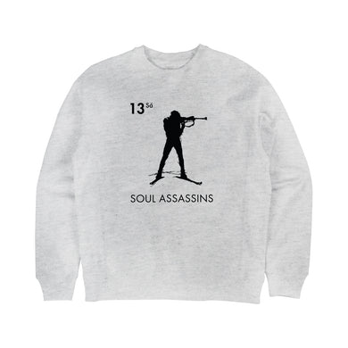 SOUL ASSASSINS STAMP CREWNECK (HEATHER GREY)