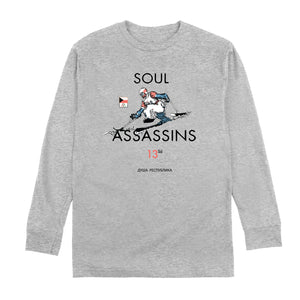 SOUL ASSASSINS WINTER LONG SLEEVE TEE (HGREY)