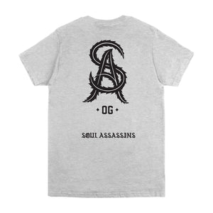 SOUL ASSASSINS SA OG TEE (HEATHER GREY)