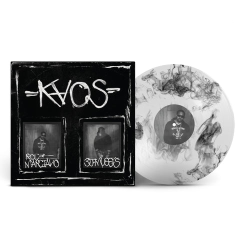 "KAOS  - LIMITED EDITION 12"" DELUXE CLEAR W/ BLACK SMOKE VINYL"
