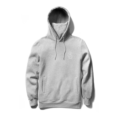 SOUL ASSASSINS BONES MASKED HOODIE (HEATHER GREY)