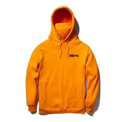SOUL ASSASSINS SCRIPT MASKED HOODIE (ORANGE)