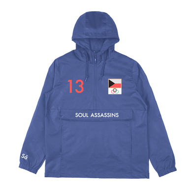SOUL ASSASSINS WINTER WINDBREAKER (NAVY)