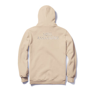 SOUL ASSASSINS OLD ENGLISH MASKED HOODIE (SAND)