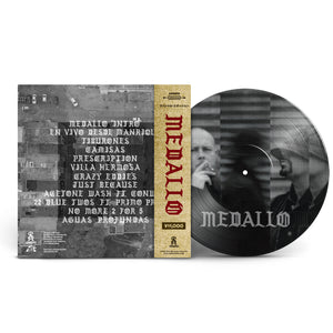 "MEDALLO - LIMITED EDITION 12"" PICTURE DISC VINYL OBI"