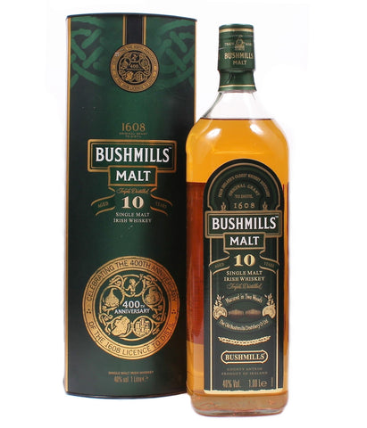 Bushmills 10 ans 400th Anniversary - Limited Edition