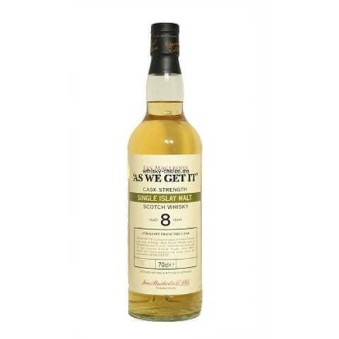 As We Get It - Islay Single Malt -  8 ans