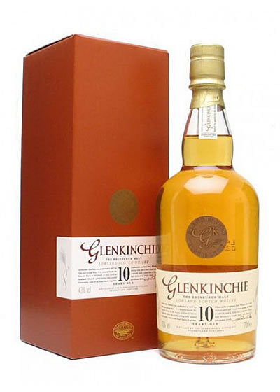 Glenkinchie  10 ans - Old edition