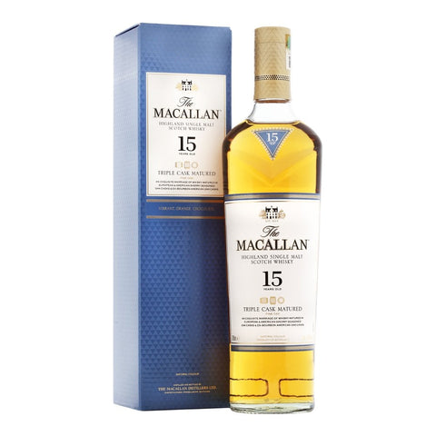 The Macallan 15 yo Triple Cask