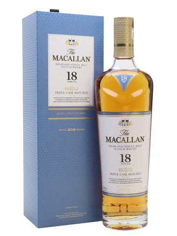 The Macallan 18 yo Triple Cask