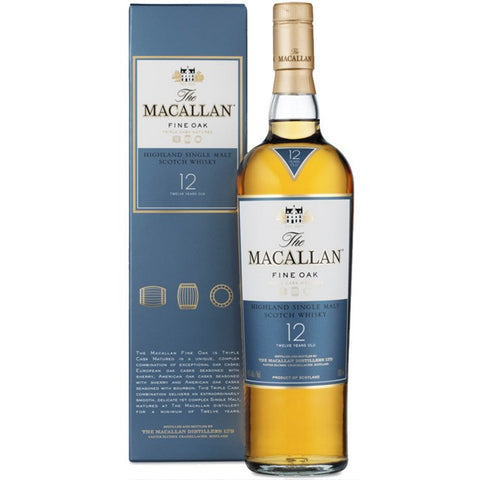 The Macallan 12 yo Fine Oak