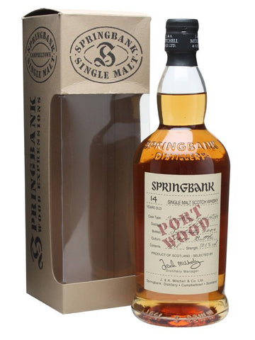 Springbank 14yo Port Wood - Avent #6