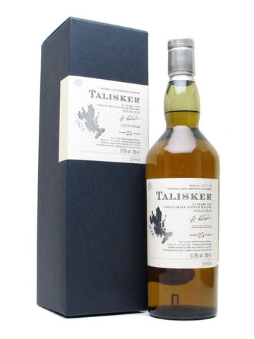 Talisker 25 ans - Old Edition 2004