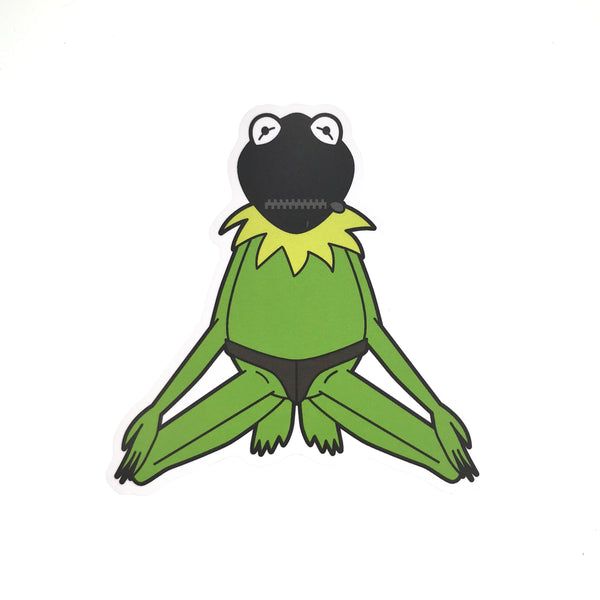 Slave Boy Kermit Sticker