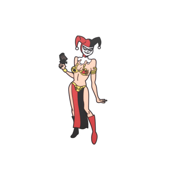 Slave Harley Sticker