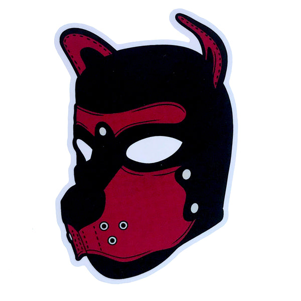 Puppy Hood - Brown - Sticker
