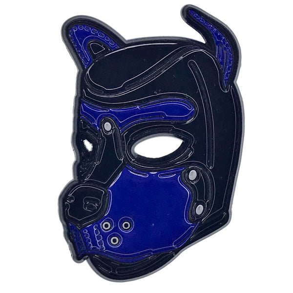 Puppy Hood - Blue - Enamel Pin