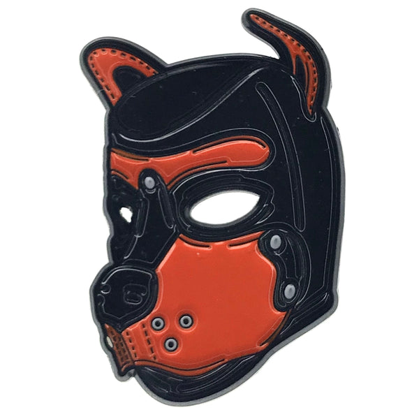 Puppy Hood - Orange - Enamel Pin